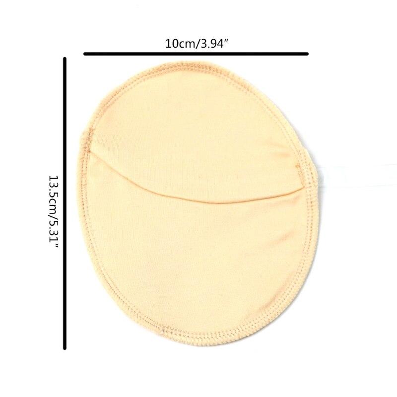 Многоразовые прокладки Q1QD для подмышек от пота, Регулируемые дышащие вкладыши, впитывающие пот, для мужчин и женщин
