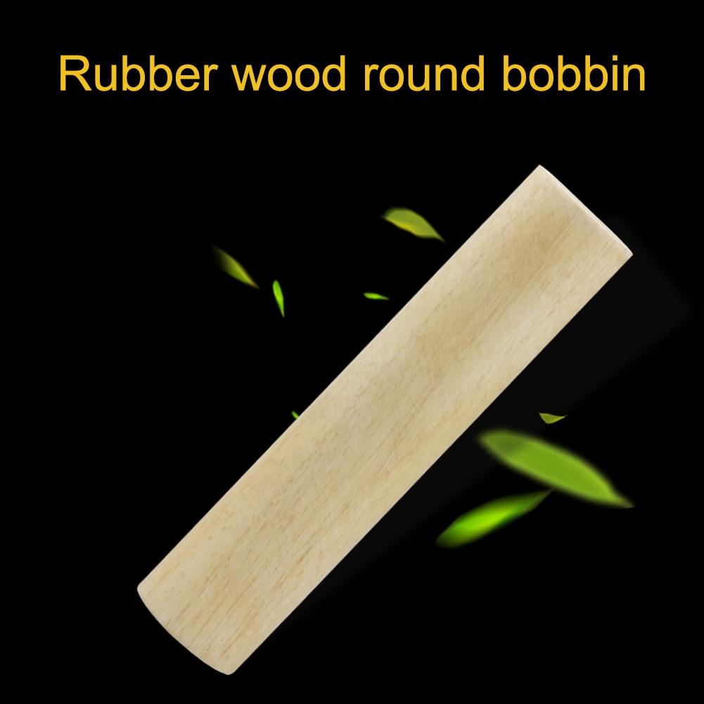 Instrumento Musical de percusión de tubo de arena redonda de madera de goma, juguetes educativos interactivos de educación temprana para regalos de niños