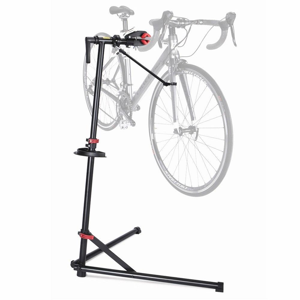 Профессиональный ремонтный стенд для велосипеда, регулируемый стояночный стеллаж, портативная Рабочая подставка для MTB, дорожный велосипедный ремонтный инструмент