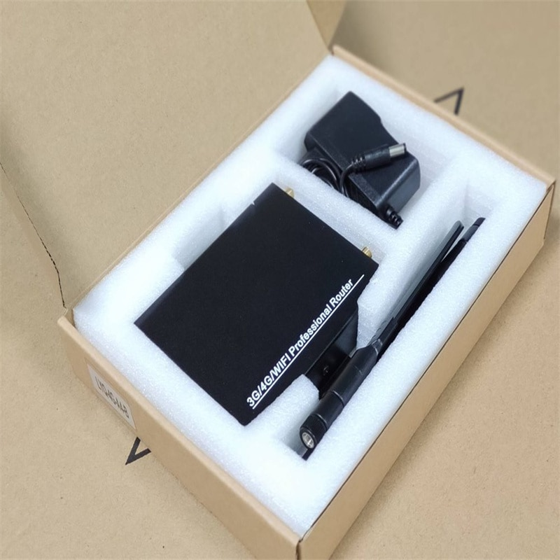 4G LTE WiFi Wireless Router 300Mbps CAT6 High Speed Industry CPE with SIM Card Slot and 3pcs External Antennas OOZEIN enlarge