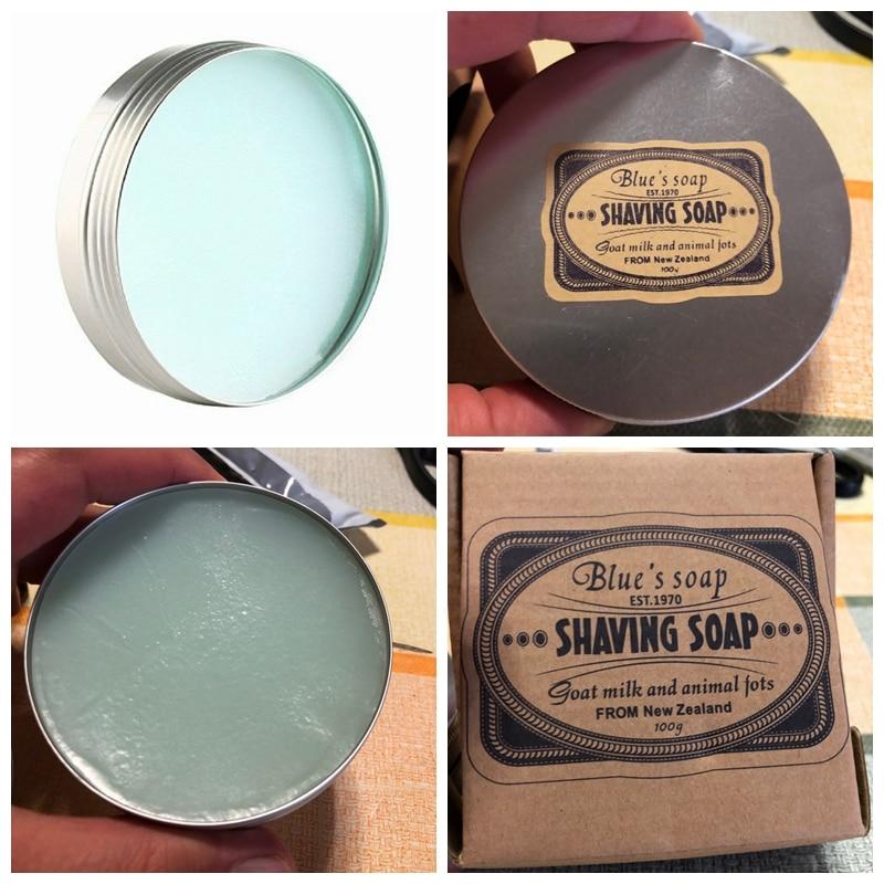 Men's cologne Scent SHAVING CREAM SOAP 100g Foaming Lather Barber Salon Tool