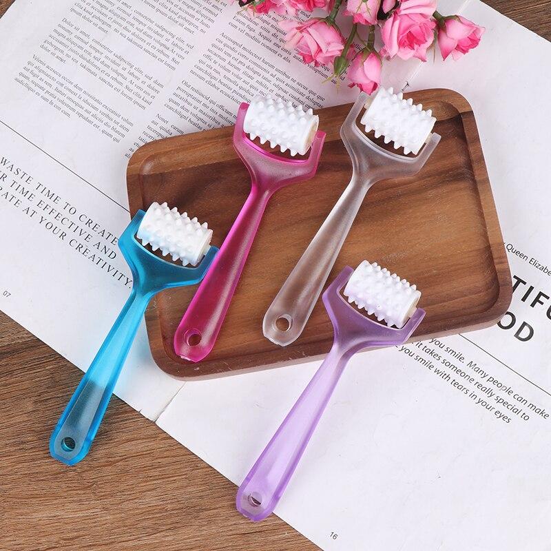 4 colores Mini masaje de dedo para la cara rodillo facial-lift masajeador moldeador de cara relajación del cuerpo herramienta más delgada herramientas de belleza Dropship