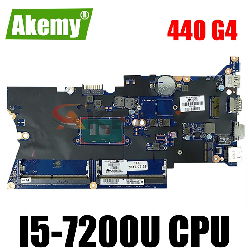 905794-601 905794-001 910807-601 X81 ل HP Probook 440 G4 430 G4 اللوحة المحمول I5-7200U SR2ZU DA0X81MB6E0 DDR4