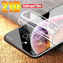 Soft Hydrogel Film For apple iPhone 11 12 13 Pro XS Max XR iphone X 7 8 Plus Protective Silicone TPU Screen Protector Not Glass