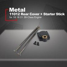 11012 couvercle arrière + bâton de démarrage pour HSP 110 télécommande huile voiture RC démarreur de voiture pour 16 18 21 28 classe moteur métal 150mm