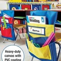 floding chair hanging bag kindergarten storage bag teaching supplies stationery storage bags seat bag space saver organizer
