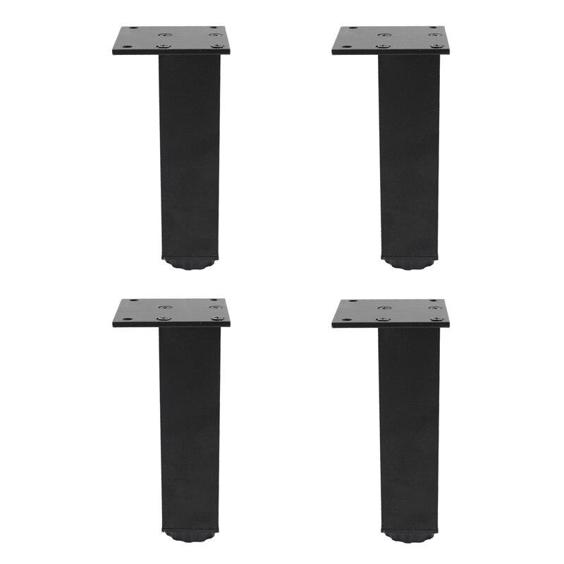 4 шт., подставки из алюминиевого сплава для дивана, кровати, стола, телевизора, шкафа, кушетки, комода, стола 15 см