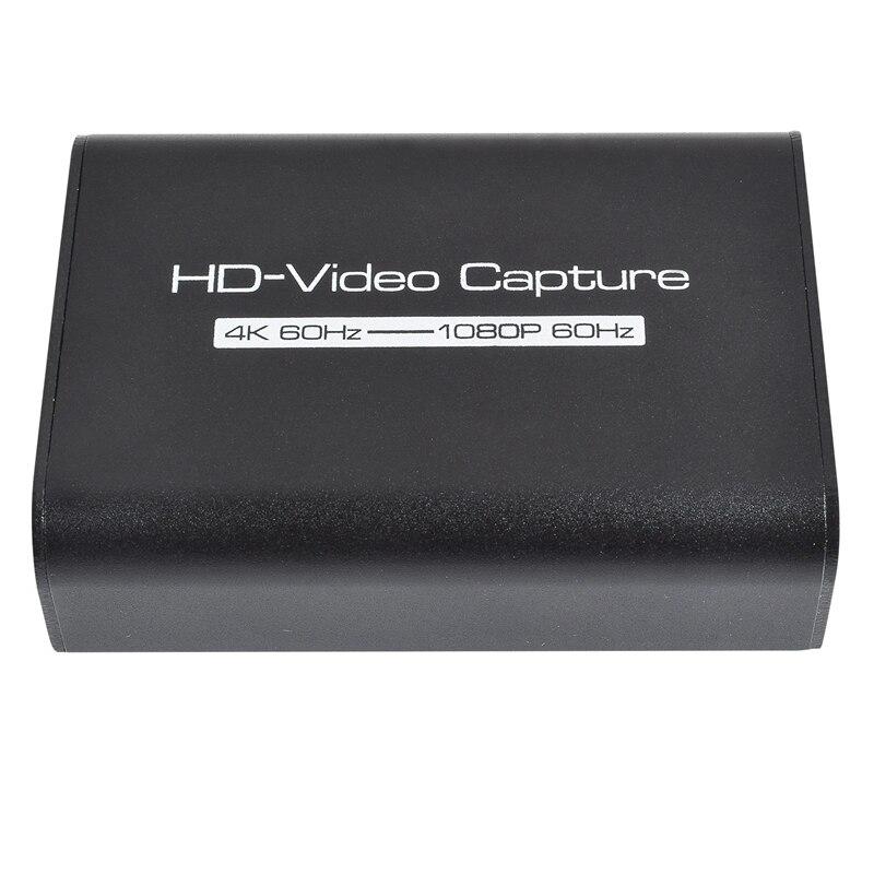 التقاط فيديو عالي الدقة, بطاقة التقاط فيديو HDMI ، بطاقة التقاط فيديو HDMI ، صندوق تسجيل مباشر 4K