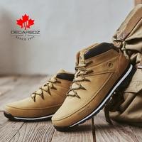 DECARSDZ Men Casual Boots 2021 New Men Fashion Shoes Man Brand Lace-up Winter Boots Men winter Boot Shoes Man Shoes Men's Boots