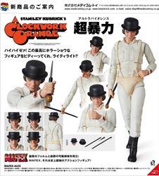 112 Mafex Malcolm McDowell A Clockwork Orange alex Figura de Ação boneca figuras boneca Collectible toy Modelo