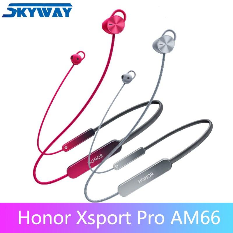 Original nova honra xsport pro fone de ouvido bluetooth AM66-L esporte carregamento rápido à prova dwireless água sem fio para honra v30 pro