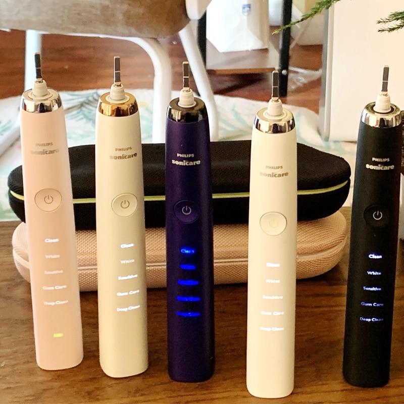 Philips Original Electric Toothbrush Sonic HX9340 Upgrade 4th Generation HX939 Series Diamond Whitening
