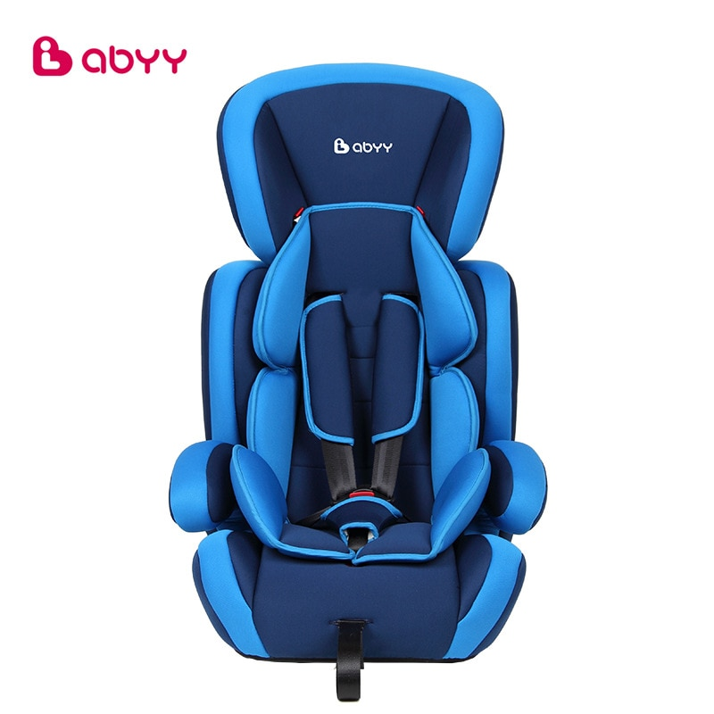 0820 Children's Car Seat Baby Car Travel Chair 9 Months - 12 Years Old Manufacturer Direct Sales One-piece Hair