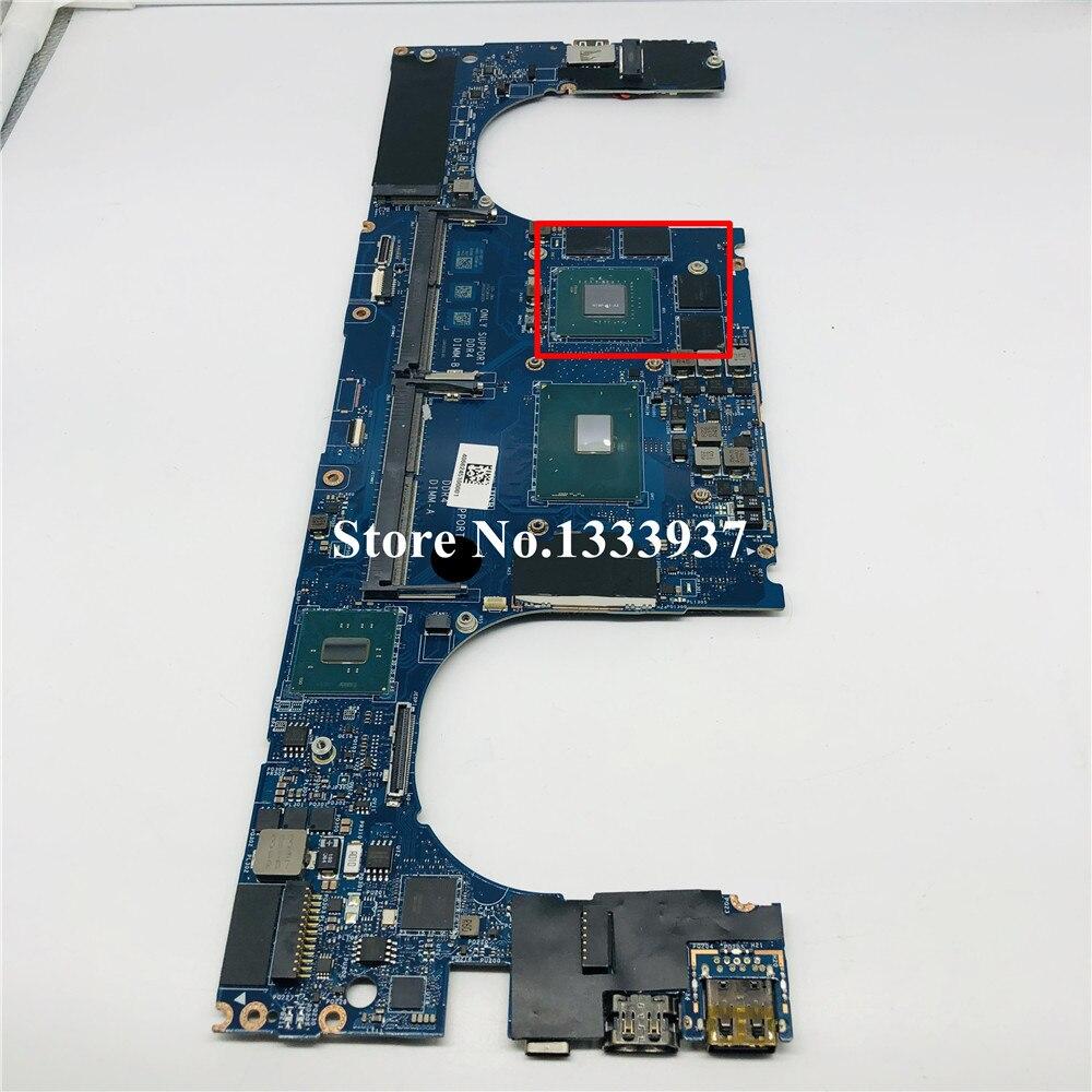 Ordenador portátil placa base para Dell para XPS 15 9550 M5510 placa base LA-C361P CN-0Y9N5X 0Y9N5X Y9N5X i7-6700HQ