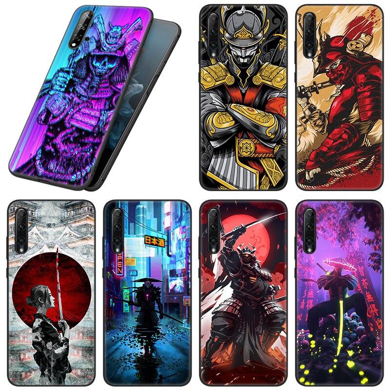 Japanese Samurai Phone Case For Huawei Honor 10X Lite 7A 7S 8A 8S 8C 8X 9A 9C 10i 20i 30i 20S 20E 9X