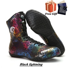 Professional men's boxing shoes combat sports training shoes weightlifting shoes daily fitness train