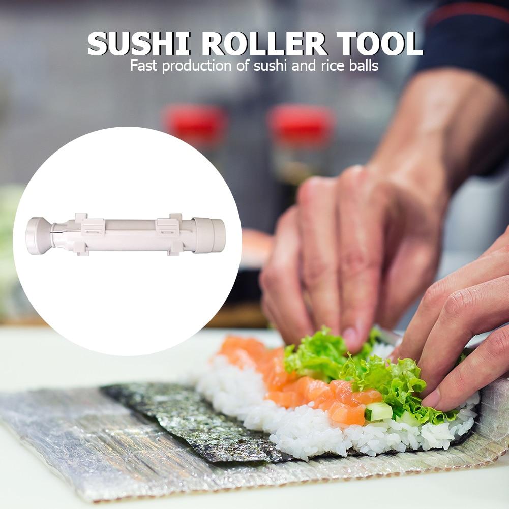 Устройство для приготовления суши, роллер, форма для риса, суши, Базука, инструмент для перекатки овощей, мяса, сделай сам, машина для пригото...