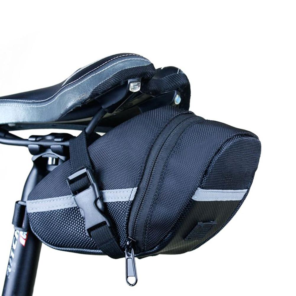 Bolsas de bicicleta de diseño delicado, asiento reflectante para bicicleta, bolsas de herramientas traseras, sillín de bicicleta MTB, sillín de bicicleta, bolsas de asiento trasero para ciclismo al aire libre