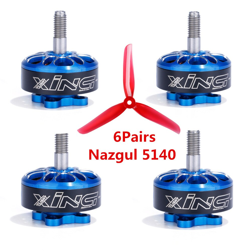 iFlight XING ECO XING-E 2306 1700KV/2450KV/2750KV 2-6S 5inch Brushless Motor for RC Drone FPV Racing Freestyle Nazgul 5140