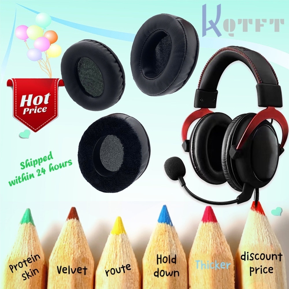 Earpads Velvet for Roland RH-5 RH5 Headset Replacement Earmuff Cover Cups Sleeve pillow Repair Parts enlarge