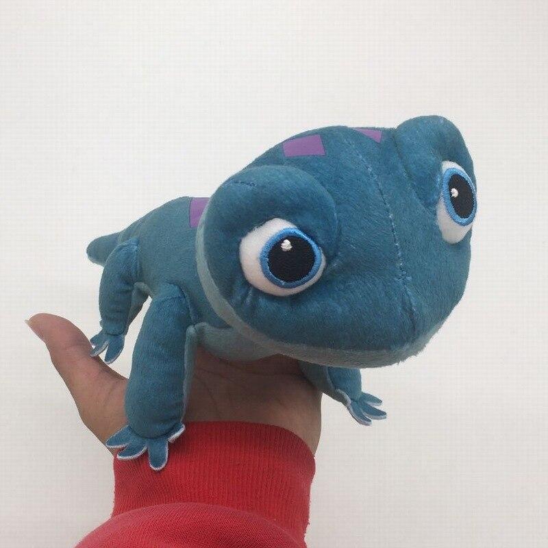 Disney Frozen 2 Peluches Juguetes de peluche Frozen Lizard Peluche de Olaf Kawaii muñeco de nieve dibujos animados Juguetes de peluche Juguetes