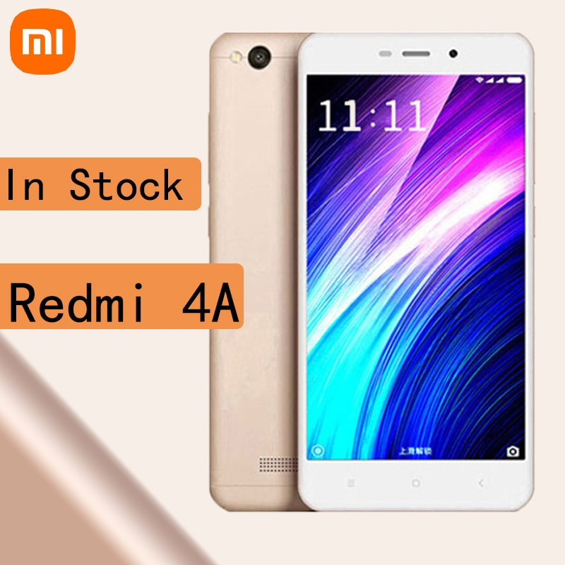 celular Xiaomi Redmi 4A smartphone Snapdragon 425 2G 16G 3120 mAh Android mobile phone in stock