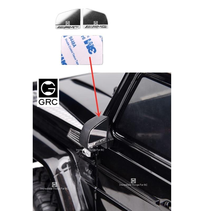 Trx6 G63 Нержавеющая Сталь Объектив заднего вида для Trx4 G500 Amg зеркало заднего вида Автомобильное Зеркало G160H
