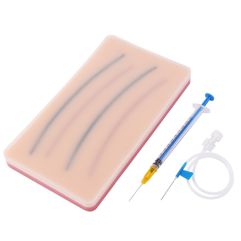 Venipuncture Module Simulates Human Skin Injection Training Model Subcutaneous Injection Practice