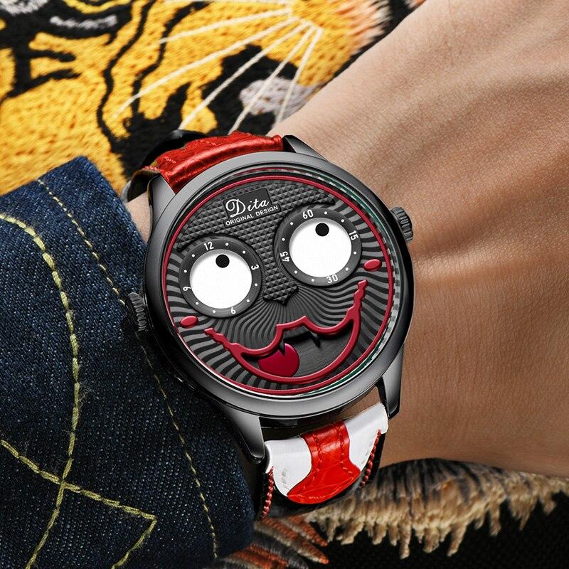 Limited Edition DITA Brand Fashion Joker Watch Man Luxury Waterproof Personality Casual Quartz Wristwatch 2021 Relogio Masculino enlarge