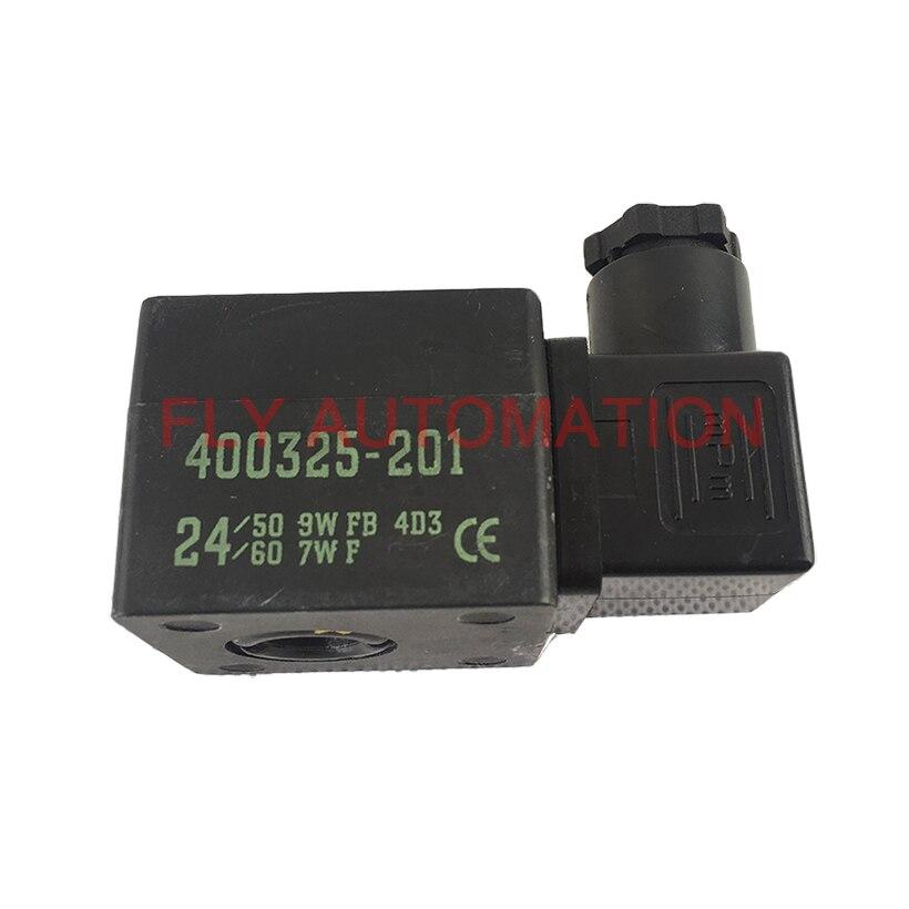 400325-201 ASCO 24VAC 50/60Hz Staub Collector SCG353A043 SCG353A044 Magnetspule