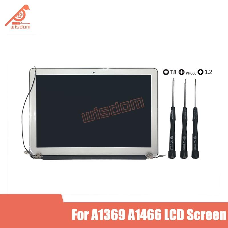 """맥북 에어 13 """"A1369 LCD 스크린 어셈블리 디스플레이 2010 2011 2012 MC503 MC965 MD231 661-5732 661-6056 661-6630"""