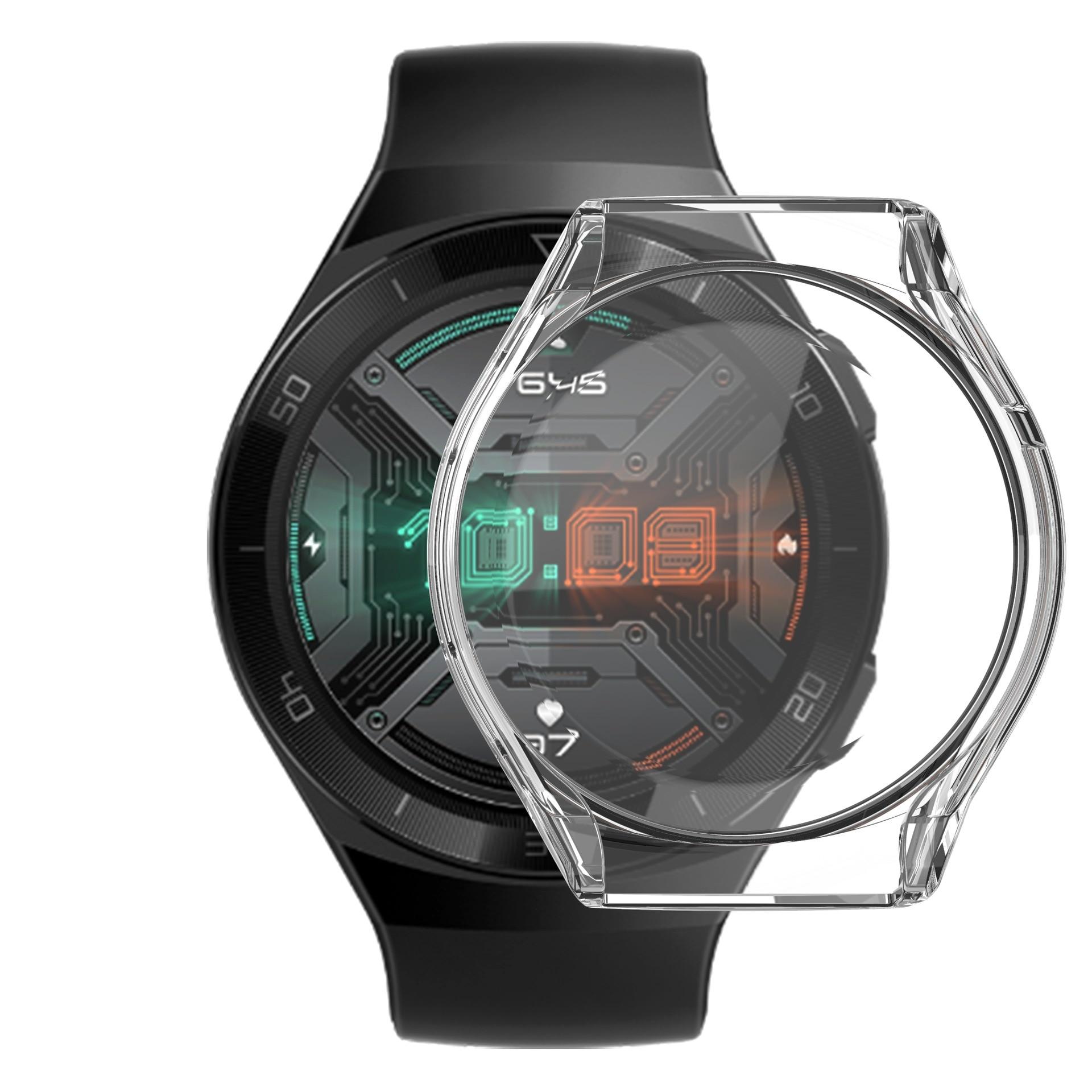 Умные часы Гальванизированный защитный чехол для Huawei watch gt 2e чехол ТПУ покрытие экран протектор чехол, для GT 2E умные часы huawei watch gt 2e hector b19c mint