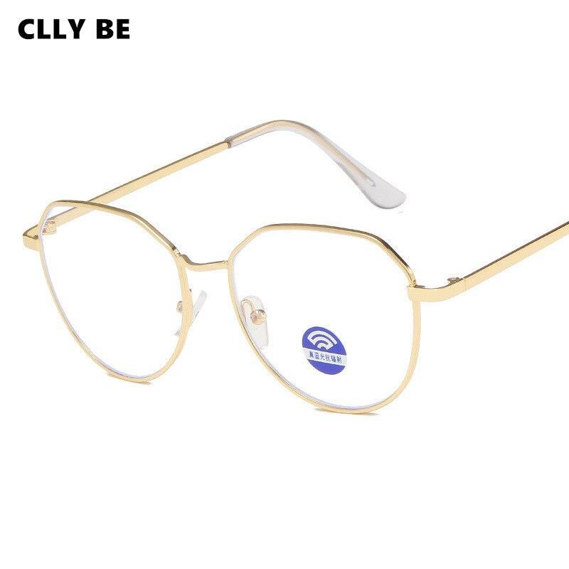 Anti azul luz metal óculos de computador jogo de telefone quadro de vidro men ray filtro para filme 3d mulher óculos óculos acessórios