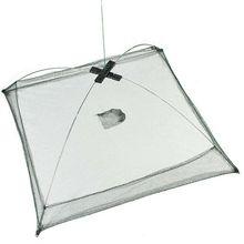 New Portable Folded Fishing Net Baits Mesh Trap Durable for Shrimp Minnow Crayfish LMH66