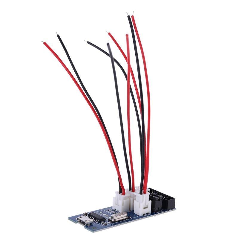 Placa de interfaz de osciloscopio WAVE2 con convertidor Uart-USB TTL-USB CH340G B85C