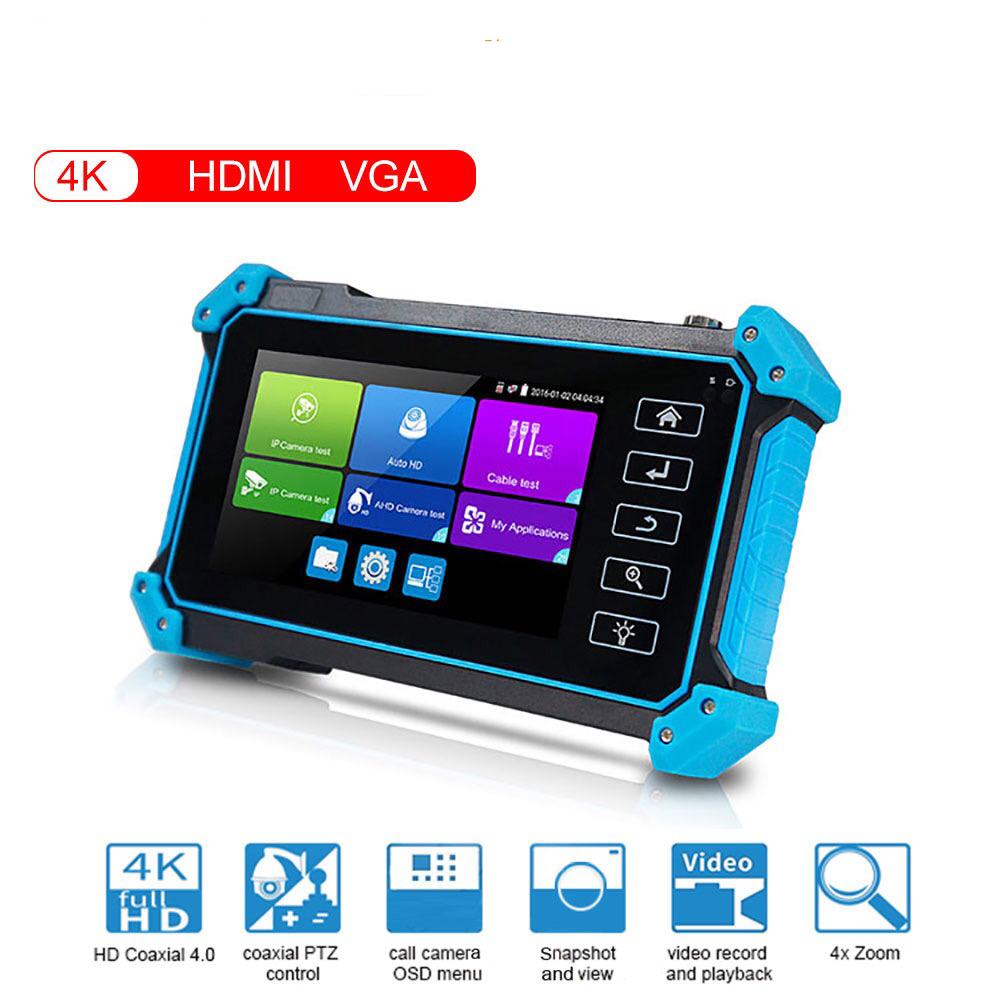 Монитор системы видеонаблюдения 8MP 4K HDMI VGA вход, тестер для Ip-камер, IPC тестер с портом poe