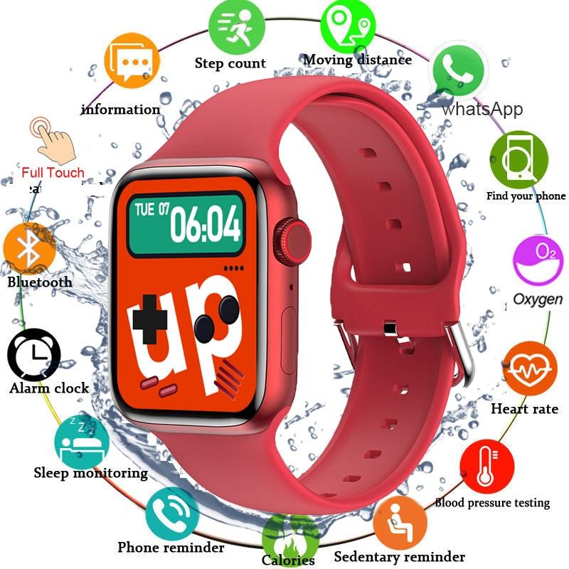 2021 Sport Smart Watch Men Customize Wallpaper Smartwatch Women Sleep Heart Rate Monitor Watches For Iphone Xiaomi Huawei IWO