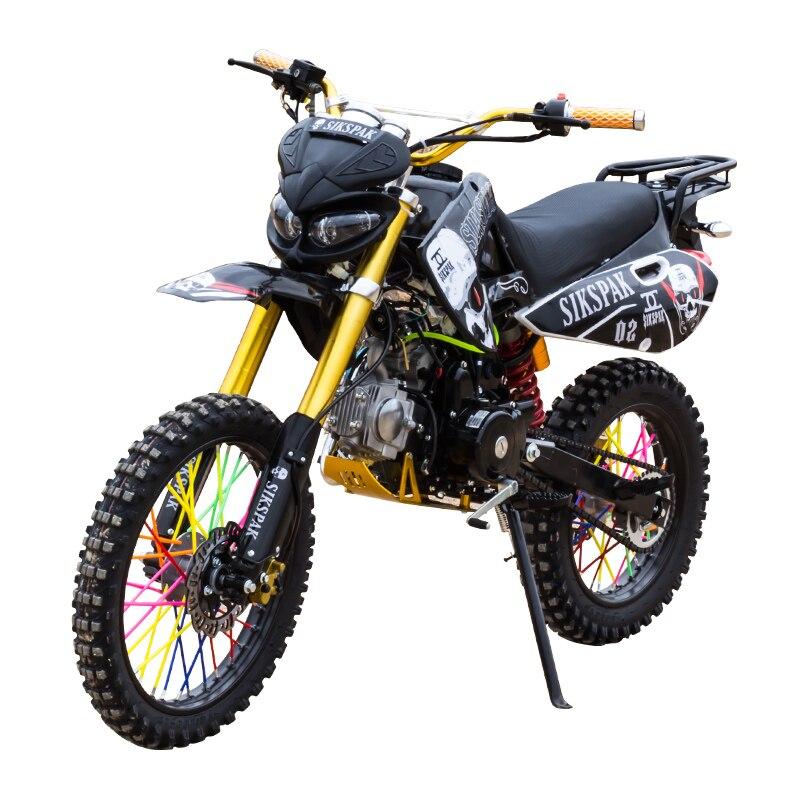 دراجة نارية صغيرة جبلية 125cc دراجة نارية Zongshen 150cc بعجلتين للبالغين منافسة عالية مزدوجة سباق الطريق