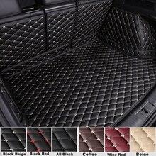 SJ personnalisé ajustement complet ensemble étanche voiture coffre tapis AUTO pièces queue botte plateau Liner Cargo protection arrière couverture pour Infiniti QX60 2014-2018