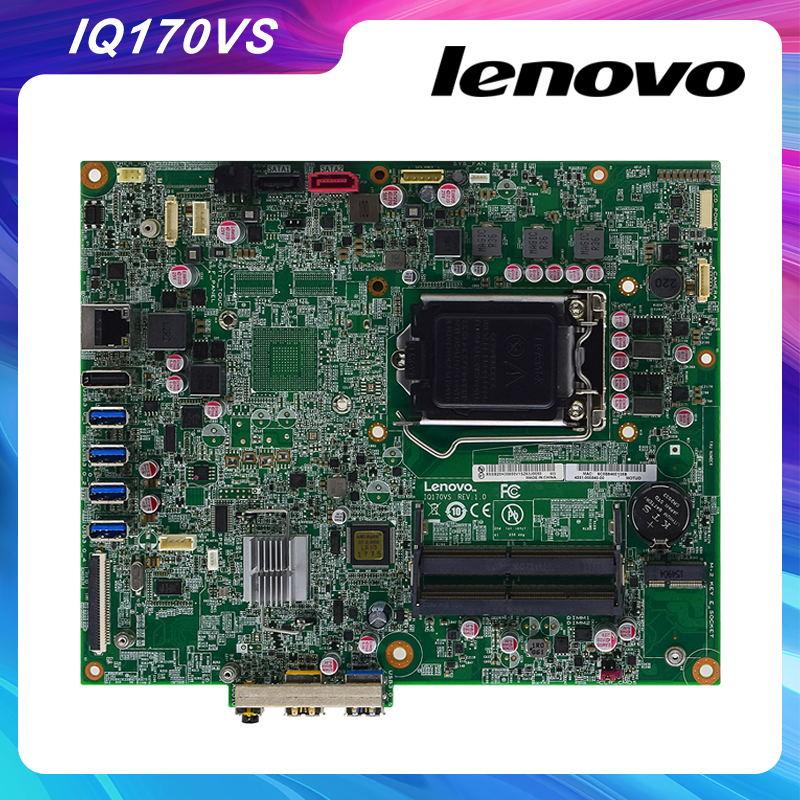 لينوفو ثينك سنتر M900z الأصلي الكل في واحد اللوحة IQ170VS REV 1.0 DDR3 USB3.0 الأصلي سطح المكتب اللوحة 100% اختبار