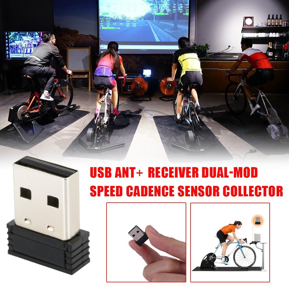 Dual-Mode Speed Cadence Sensor for Garmin Wireless Cadence Receiver ANT+ USB Stick Receiver Bicycle ANT+ Bluetooth Bike Computer