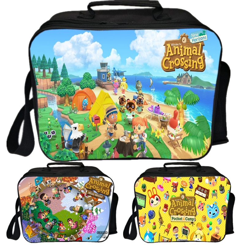 2020 Spring Animal Crossing Portable Lunch Box Food Storage Case Container Dinnerware Bento Box For Student School Office Home �������������� box spring