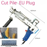 2021 Electric Manual Cut Pile Carpet Weaving Flocking 100-240V Adjustable Rug Carpet Tufting Gun Machine(FOR CUT) Tools