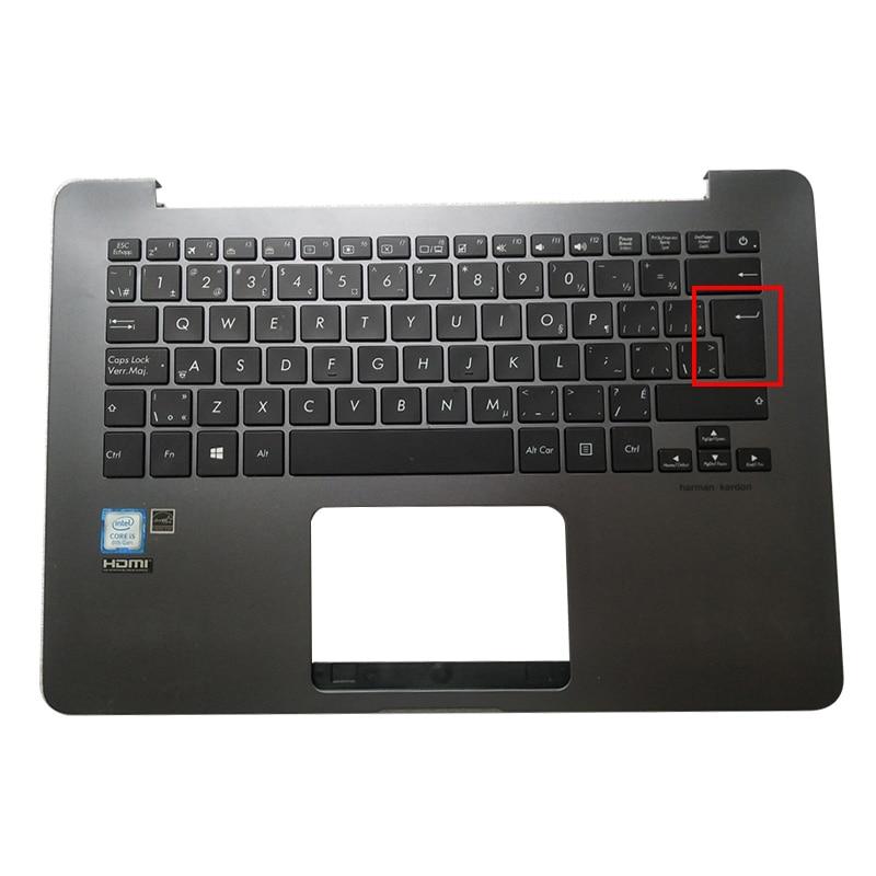 جديد حاسوب محمول اسوس ZenBooK UX430 UX430UA UX430UQ U4100U حافظه محمول بالميست العلوي مع كيبورد حافظه للحاسوب المحمول