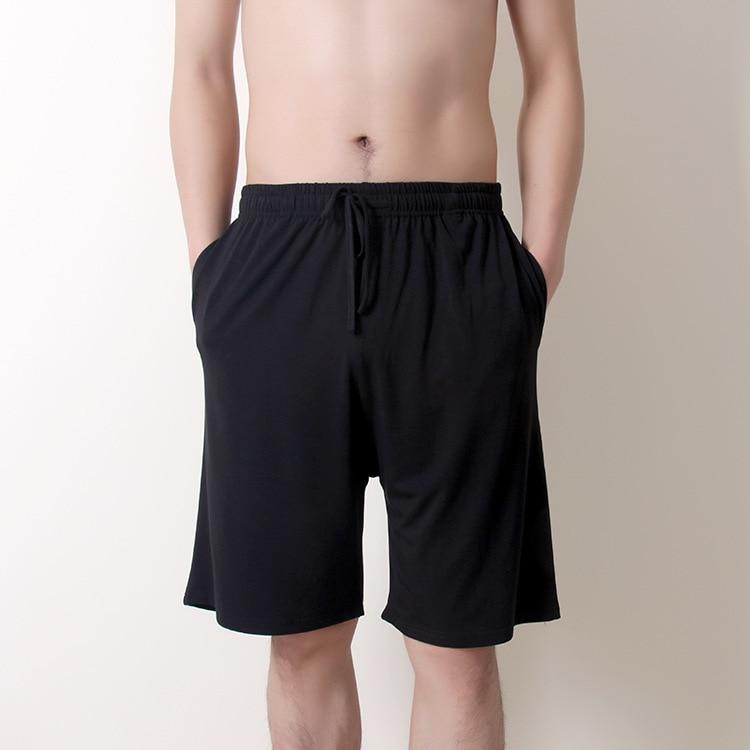 New summer large size men's shorts cotton modal casual home pants thin section large size loose shorts pajamas men pajama pants