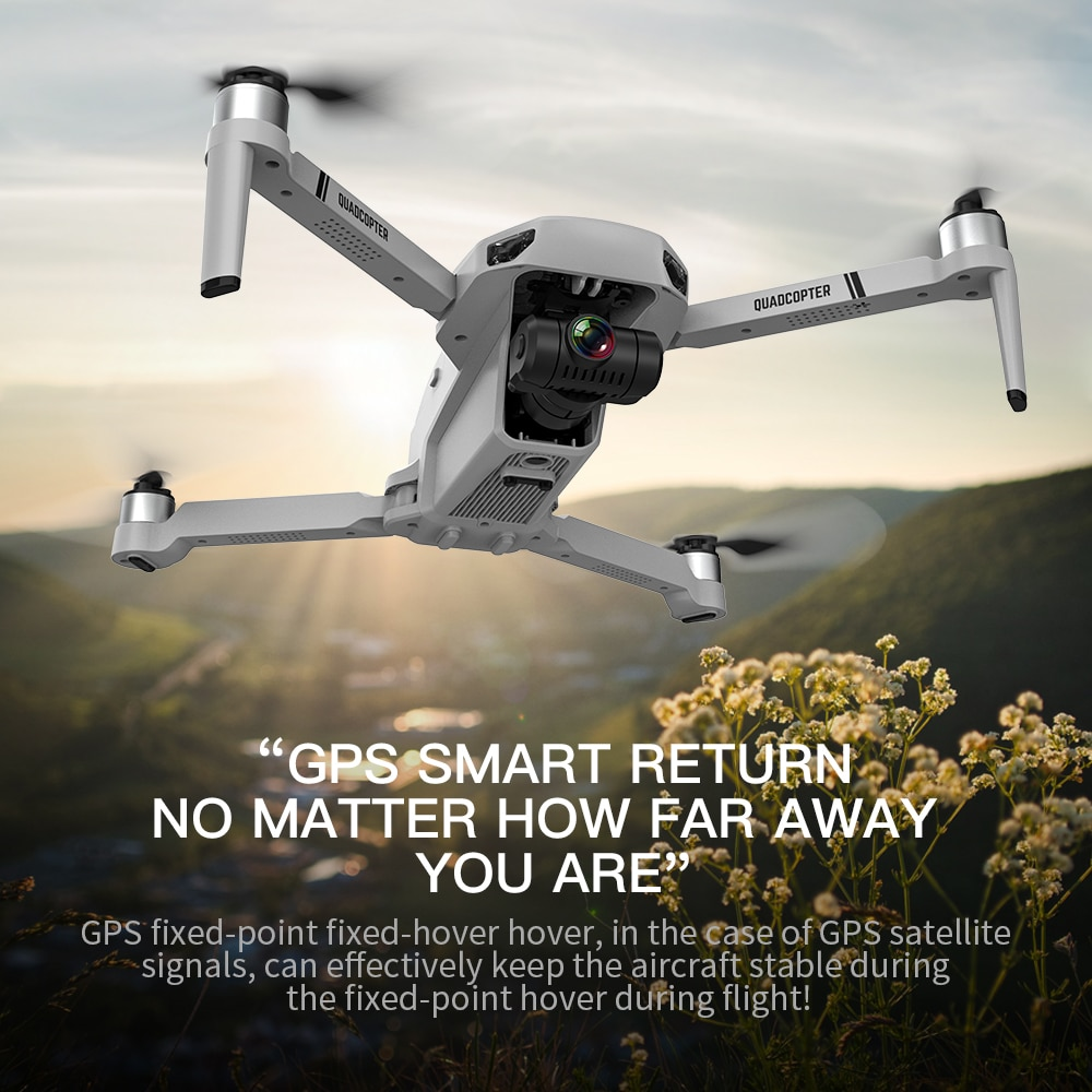 2021 New GPS Drone 4k Profesional 8K HD Camera 2-Axis Gimbal Anti-Shake Aerial Photography Brushless Foldable Quadcopter 1.2km 4