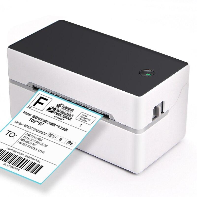 عالية الجودة 3 بوصة 80 مللي متر USB سطح المكتب الحرارية لاصق الباركود طابعة التسمية للشحن اللوجستية