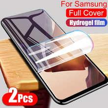 Защитная Гидрогелевая пленка для Samsung Galaxy S8 S9 S10 E S20 Plus Note 8 9 10 20 Ultra A51 A71 A50 A70, защита экрана без стекла