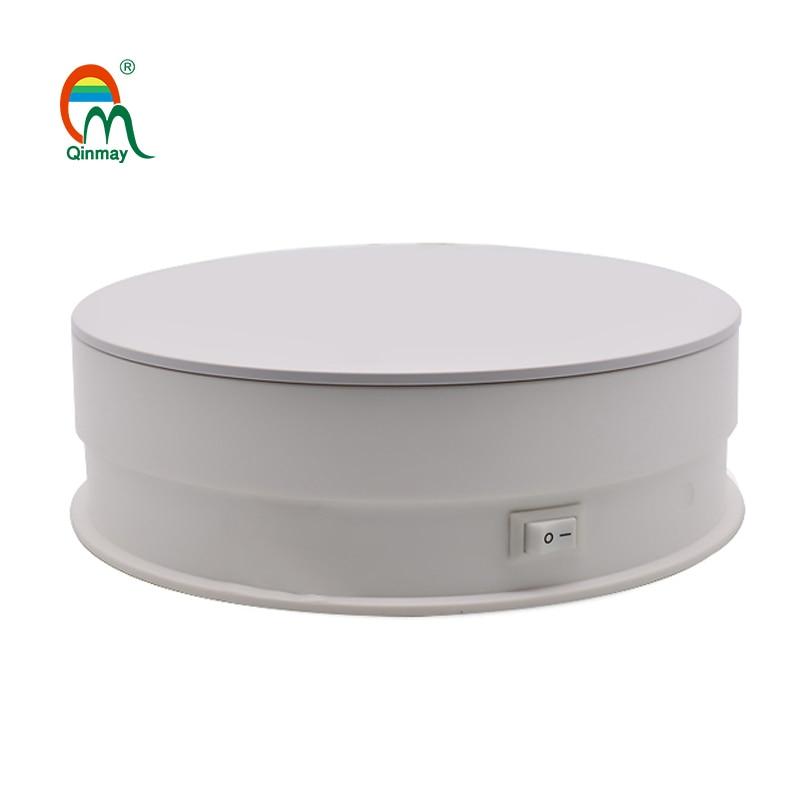 Qinmay 15cm-USB-حامل عرض دوار ، ماسح ضوئي ثلاثي الأبعاد ، عرض منتج التصوير الفوتوغرافي