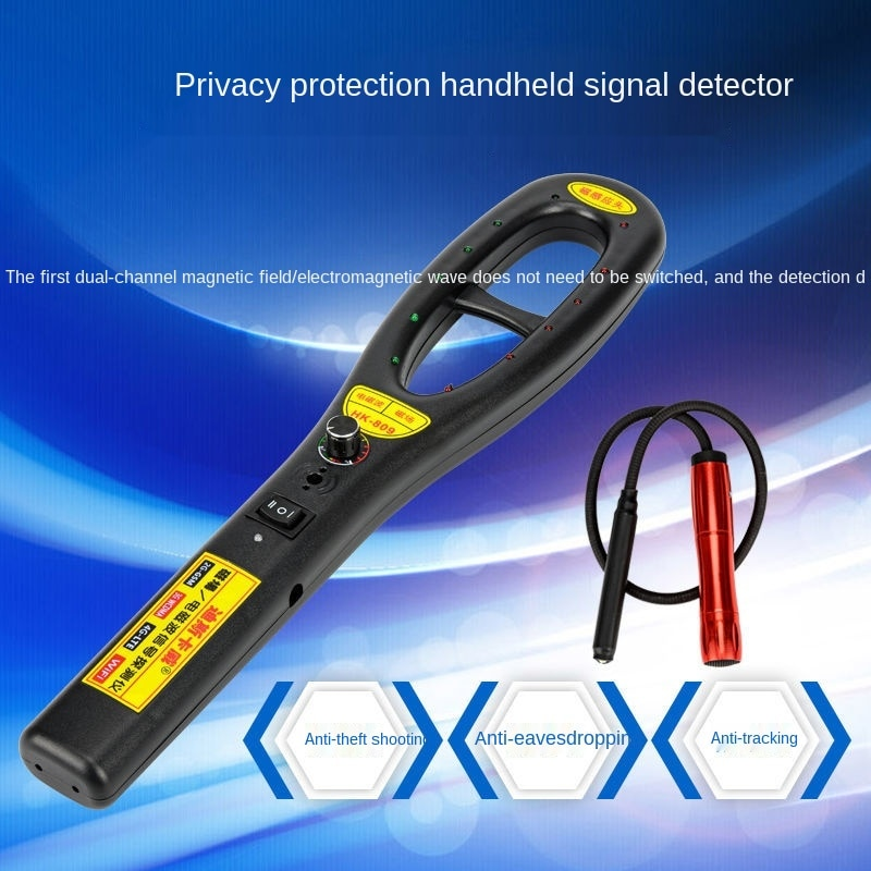 Automobile GPS Positioning Detector Anti Tracking Monitoring Wireless Signal Scanning Detection and Search Instrument